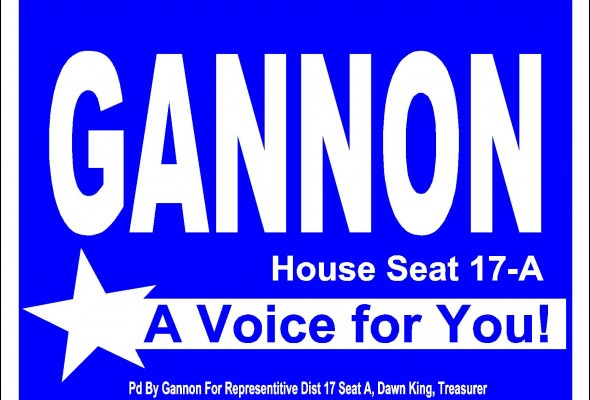 "Gannon Says ""Vote"" but Promises Legislation to Keep Party Affiliation Private"